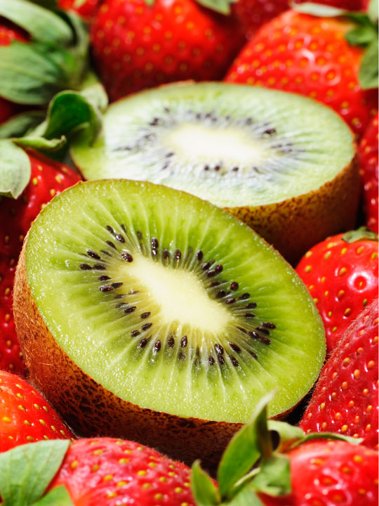 Strawberry Kiwi Frozen Yogurt Frozen Yogurt Flavor with Tart base powder mix